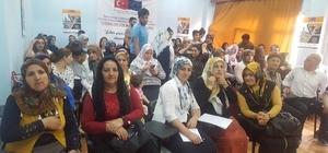 Göç mağduru ailelere seminer