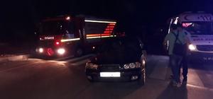 Otomobiller çarpıştı: 2'si çocuk 5 yaralı