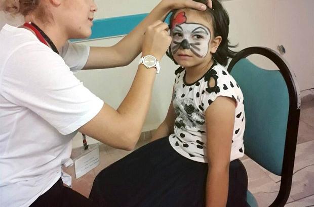 çocuklara Yüz Boyama Etkinliği Kırklareli Haberleri