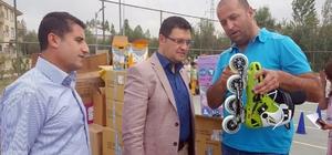 Gürpınar Belediyesinden minik sporculara malzeme desteği