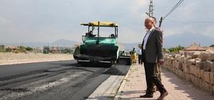 Boztepe Mahallesinde asfalt çalışmaları sürüyor
