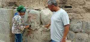 Koruma altına alınan Haldi tapınığında onarım çalışmaları başladı