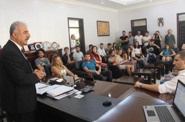 Başkan Nehir üniversite öğrencileriyle buluştu