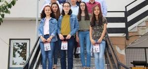 Şaphane'de öğrencilere altın ödülü