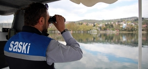 SASKİ, Sapanca Gölü'nün korunmasına yönelik çalışmalarını sürdürüyor