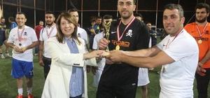 Geleneksel Halı Saha Futbol Turnuvası şampiyonu 'Game Over' oldu