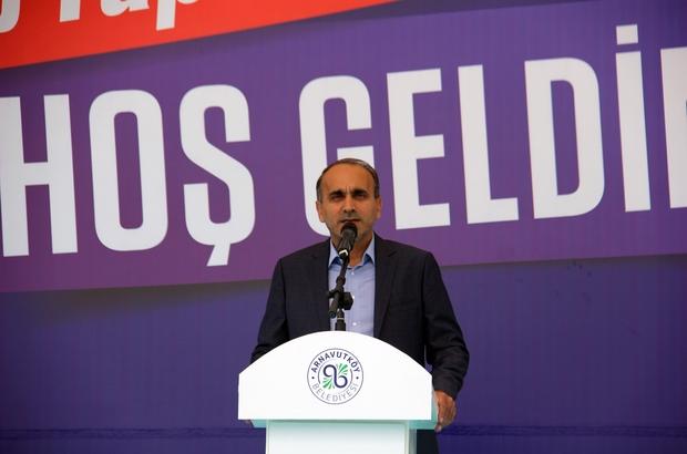 Arnavutköy'de kamu personelinin tapu sevinci
