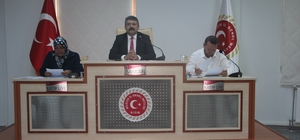 İl Genel Meclisi Ağustos ayı 4'üncü birleşimi yapıldı
