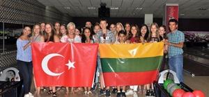 Litvanyalı öğrenciler Mersin'de mutlu ayrılıyor