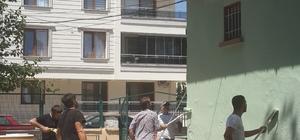Bergama'da kamu kurumları hükümlüler tarafından boyanıyor