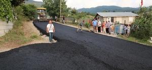 Başiskele'de asfalt çalışmaları sürüyor