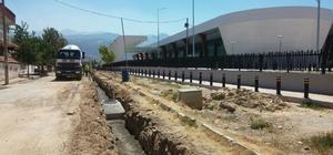 Alaşehir'de yağmur suyu sorunları bitiyor