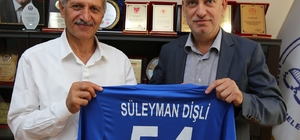 Adapazarıspor'dan, Başkan Dişli'ye ziyaret