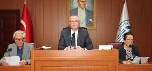 Odunpazarı Belediye Meclisi'nde gündem maddeleri oy birliği ile kabul edildi