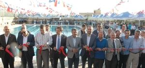 Dulkadiroğlu'nda yarı olimpik yüzme havuzu açılışı