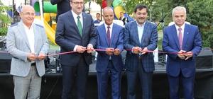 Ünlü türkücü Mahmut Tuncer 'Ciğerci Ahmet Bahçe'nin açılışına katıldı
