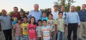 Başakşehir Belediye Başkanı Mevlüt Uysal Malazgirt'te geldi