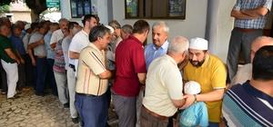 Kumluca'da hacı adayları uğurlandı