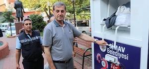 Simav Belediyesi 'Giysi Kumbarası' hizmete girdi