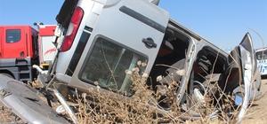 Kahta'da iki ayrı kazada 2 kişi yaralandı