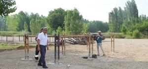 Hisarcık Belediyesi canlı hayvan pazarı hizmete girdi
