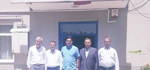 Kurukcu'dan OSB Başkanı Aslan'a ziyaret