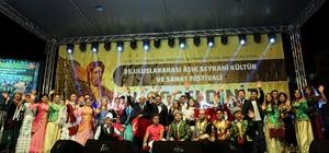 Aşık Seyrani Kültür ve Sanat Festivali finali yapıldı