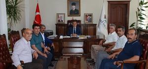 Vali Kalkancı belediye başkanları ve STK Temsilcileriyle bir araya geldi