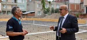 İznik'te modern balık pazarı inşaatına başlandı