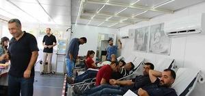 Hani'de kan bağışına yoğun ilgi