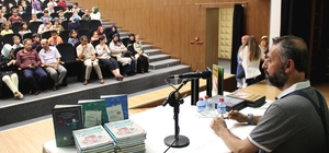 Çocuk-Yazar buluşmalarının konuğu, Gazeteci-Yazar Mevlana İdris oldu