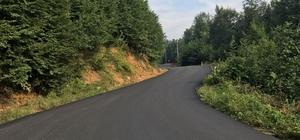 Hendek Dikmen Mahallesi, 20 bin ton sıcak asfalt ile buluştu