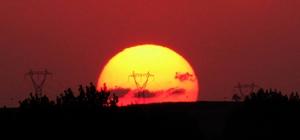 Kırklareli'nde gün batımı büyülüyor