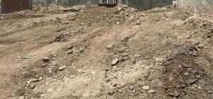 Taşlıçay'da yol yapım çalışmaları