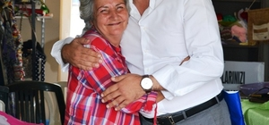 Cem Hamzaoğlu'dan şefkatli ellere anlamlı ziyaret