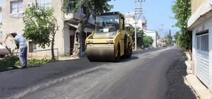 Kumluca ve Finike'ye sıcak asfalt