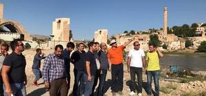 Hasankeyf'te antik liman yapılacak