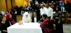 Hisarcık Ziraat Odası Başkanı Yusuf Çalışkan oğlunu evlendirdi