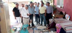 AK Parti Mezitli teşkilatından yayla ziyaretleri