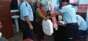 Kdz. Ereğli Belediyesi pazarcılara şemsiye dağıttı