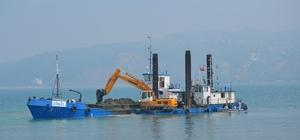 Alaplı Limanı'nda dip tarama çalışmaları başladı
