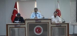 İl Genel Meclisi Ağustos ayı 5'inci birleşimi yapıldı
