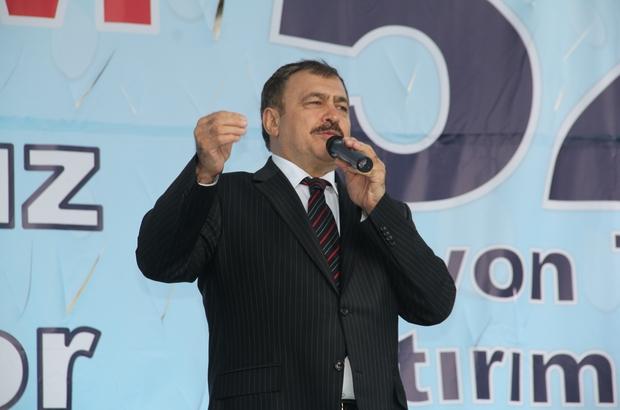 Bakan Eroğlu, 71 milyon lira yatırım bedelli 7 adet tesisin temelini atacak