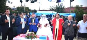 Seyitgazi'de 51 mahalleyi buluşturan düğün