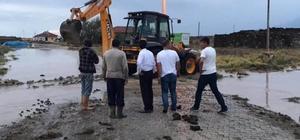 Ereğli Belediyesi, sele maruz kalan bölgelere anında müdahale etti
