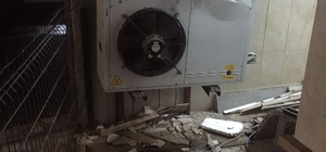 Kuşadası'nda 5 yıldızlı bir otelin soğuk hava deposunda kaza; 1 yaralı