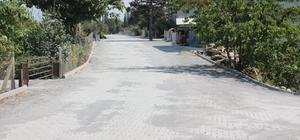 Çetin Aydoğan caddesi yenilendi