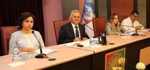 Melikgazi Belediyesi Ağustos ayı gündem toplantısı yapıldı