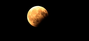 Ay tutulması Tekirdağ'dan da izlendi