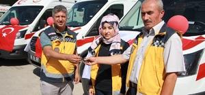 Sağlık Bakanlığından Van'a 5 ambulans